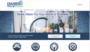 Client - Chambers Water Filtration
