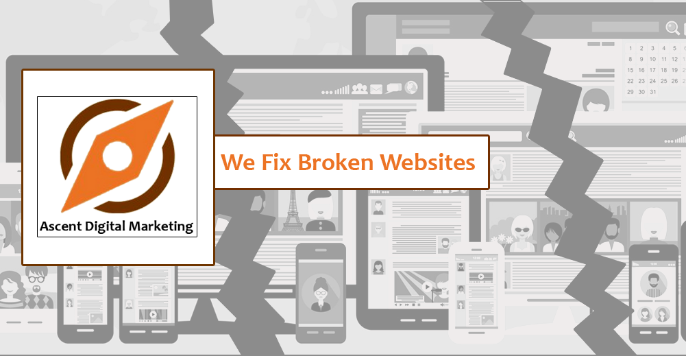 We Fix Broken Websites